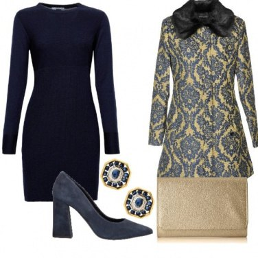 Outfit Cappotto damascato