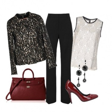 Outfit Giacca animalier
