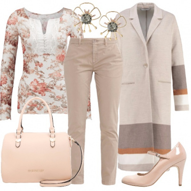 Outfit Un romantico mix and match