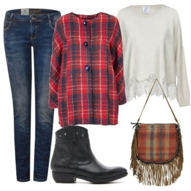 Outfit Un tocco country