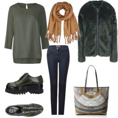 Outfit Ocra e verdone