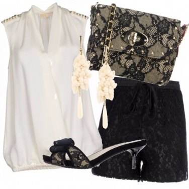 Outfit Love pizzo