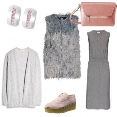 Outfit Variante Rosa#aspassoconleamiche