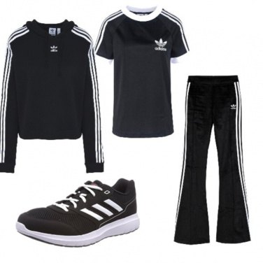 low priced c673b 37d7e Outfit ADIDAS black friday