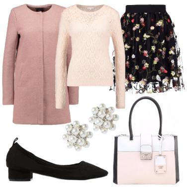 Outfit Carina e in rosa