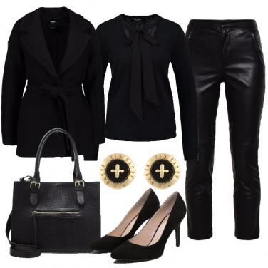 Outfit Tutta in nero
