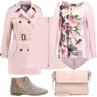 Outfit Vestirsi di rosa