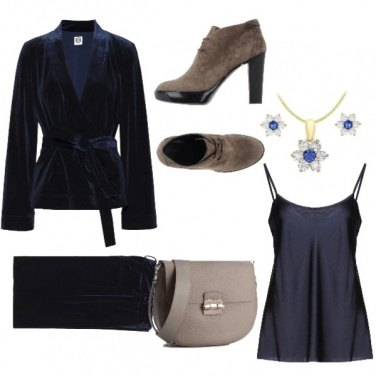 Outfit Completo blu