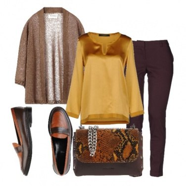 Outfit La borsa animalier