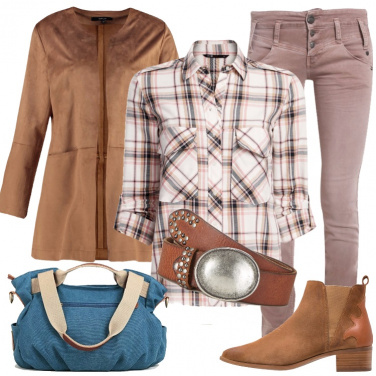 Outfit Western soft