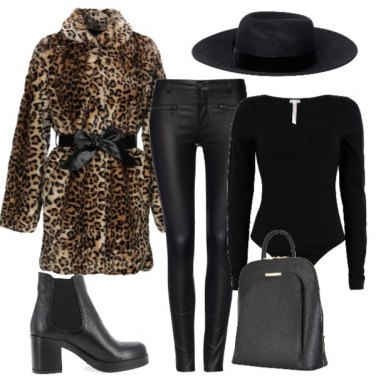 Outfit Un look glam