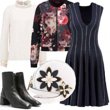 Outfit Mix romantico da sera