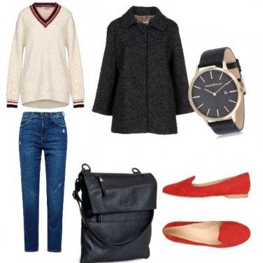 Outfit Basic, sabato mattina