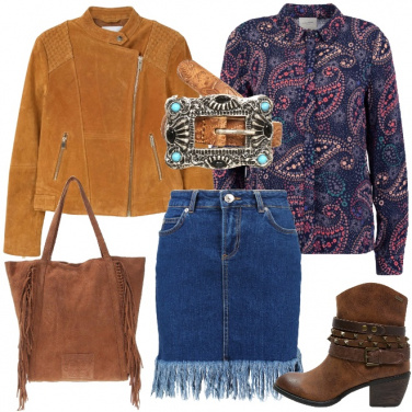 Outfit Fanciulla del West