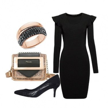 Outfit Brillare in nero