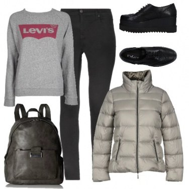 Outfit A lezione con stile