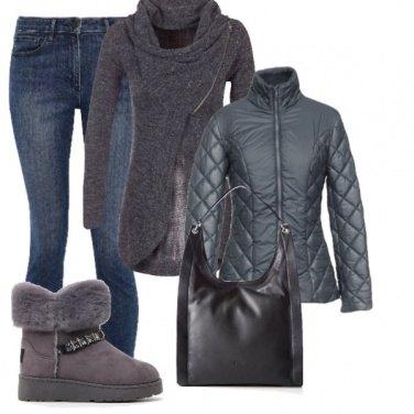 Outfit Un piumino trendy