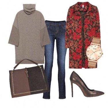 Outfit Maxi maglia