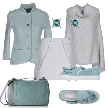 Outfit Slip on pastello