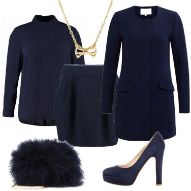 Outfit Blu notte