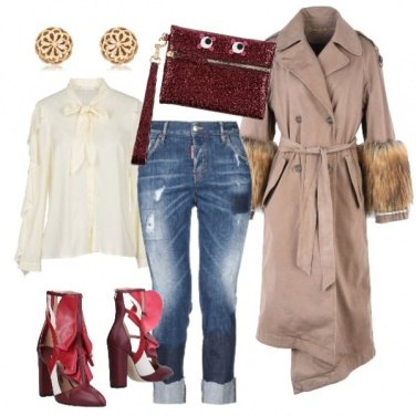 Outfit Serata speciale in jeans
