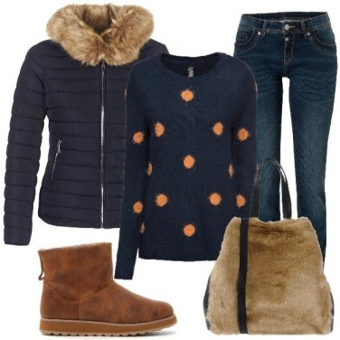 Outfit Boots e piumino