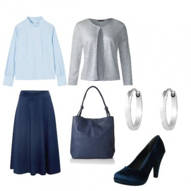 Outfit November blue