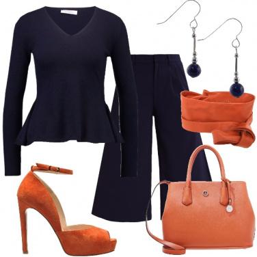 Outfit Mi piace l\'arancio