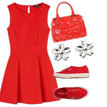 Outfit Red love