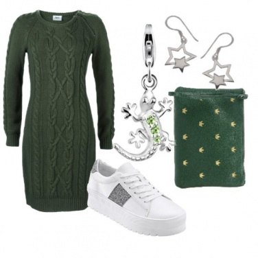 Outfit Green style nature