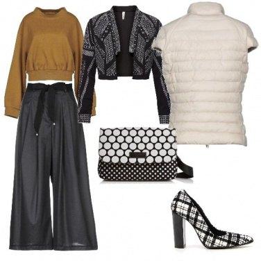 Outfit Piumino bianco