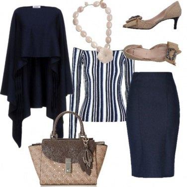 Outfit Blu dipinto di blu