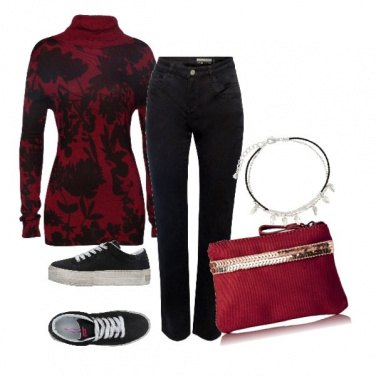 Outfit Dolcevita style
