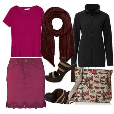 Outfit Butterfly style