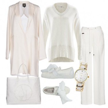 Outfit Total white minimal