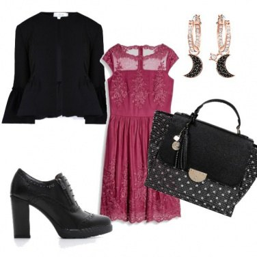 Outfit Pizzo romantico