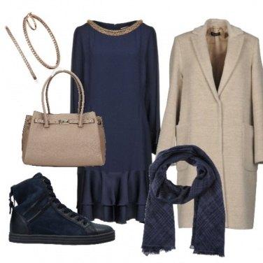 Outfit Il blu garanzia di raffinatezza