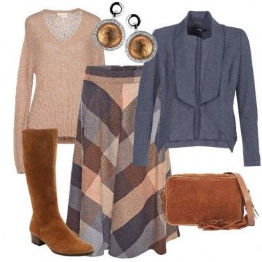 Outfit Toni caldi e toni freddi
