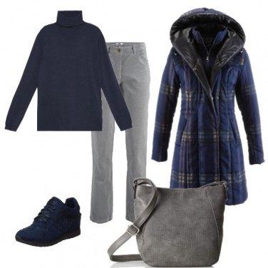 Outfit Comoda e calda ogni giorno