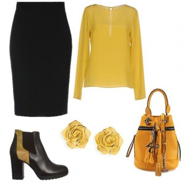 Outfit Rose gialle