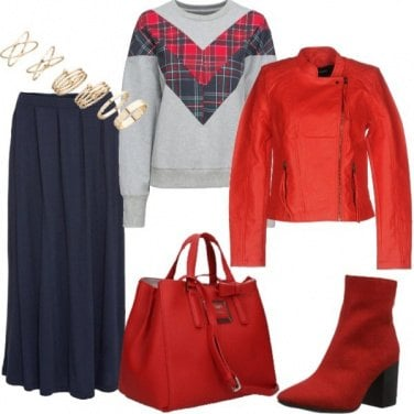 Outfit Tartan trendy for Xmas