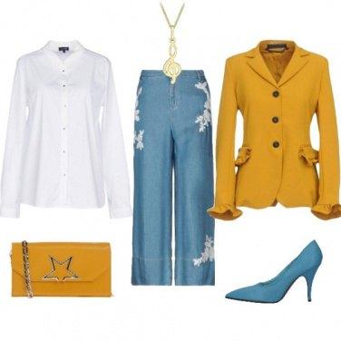 Outfit Camicia bianca un classico