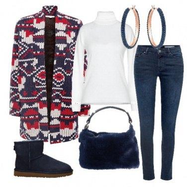 Outfit Sportiva, calda e colorata