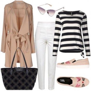 Outfit Trendy e comoda con le slip-on