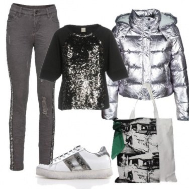Outfit Piumino trendy