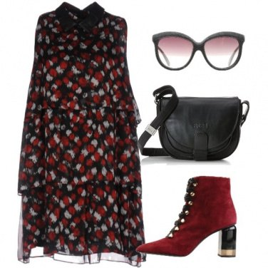 Outfit Fall in red