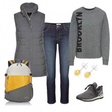 Outfit Urban yellow