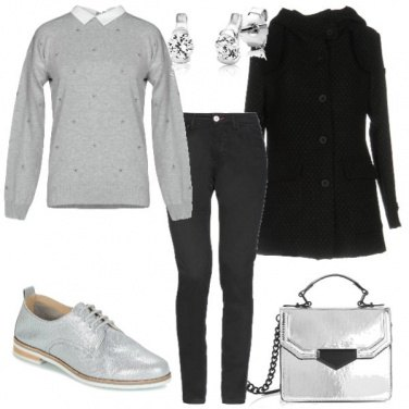 Outfit Argentato