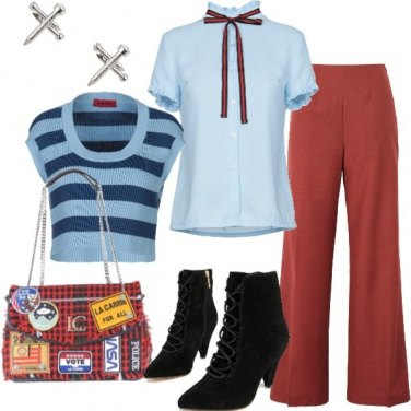 Outfit Natale vintage