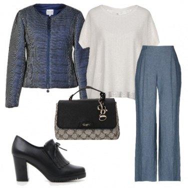 Outfit Piumino di classe.
